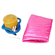 CO Fitness Pilates Yoga Ball Utility Weight Training Anti-slip With Pump Plug-Pink 65cm