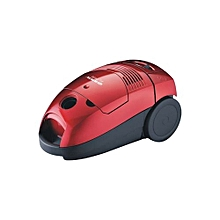 Portable Dry Mini Vacuum Cleaner - Red