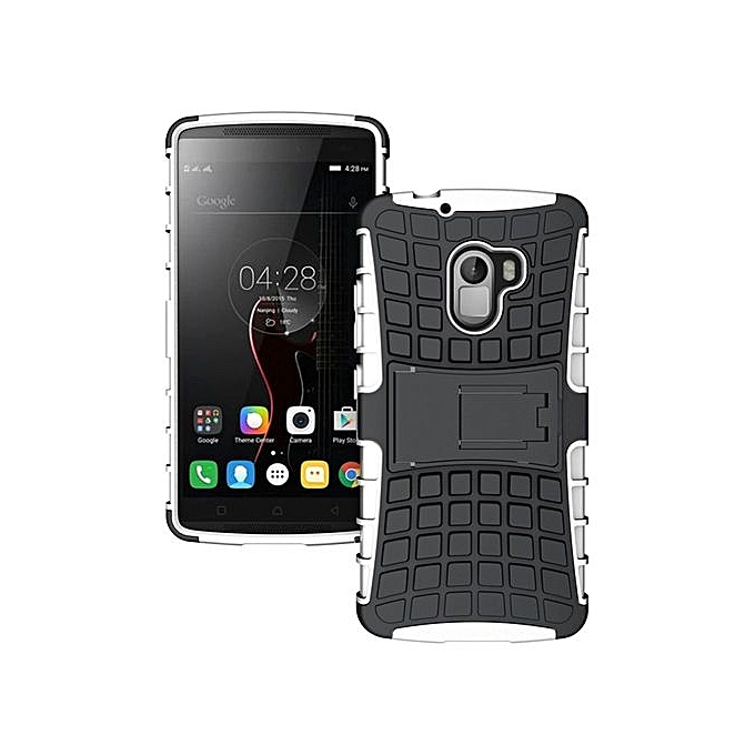 RUILEAN Hybrid Armor Tough Rugged TPU + PC Dual-Layer KickstandCase For Lenovo K4 Note