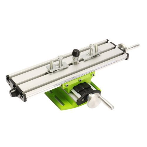 DIY Multi-function Milling Machine Mini Lathe W// Cross Sliding Table 310*90mm US