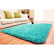 Fluffy Carpet - Turquoise blue 7*10