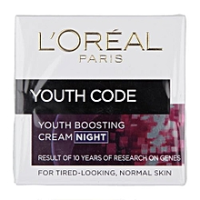 Youth Code Youth Boosting Night Cream - 50ml..