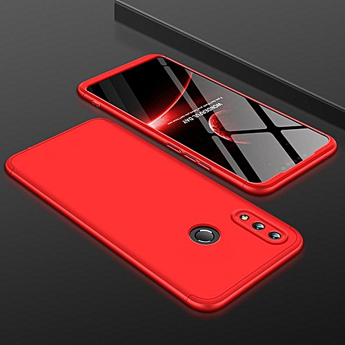new styles 5db44 09a84 360 Degree Full Protection Hard Case For Huawei Nova 3i Back Cover  Shockproof Case For Nova 3i Case (Red)