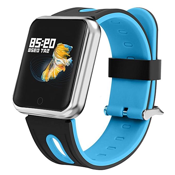 P68 Smartwatch Clock Blood Oxygen Pressure Heart Rate Monitor Wristwatch  Sport Activity Tracker Fitness Smart Watch Band