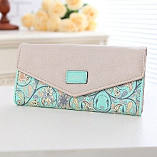 Famous Brand Designer Luxury Long Wallet Women Wallets Female Bag Ladies Money Coin Women Purse Carteras Cuzdan Green