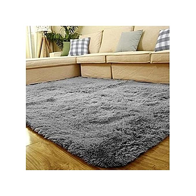 generic super soft modern shag area silky smooth rugs living room carpet bedroom rug for. Black Bedroom Furniture Sets. Home Design Ideas