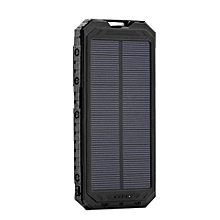 Waterproof Battery Charger Travel Solar Power Bank Board Powerbank For Phone