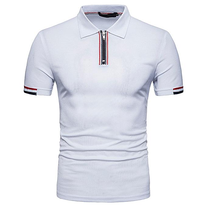 Fashion Polo Shirt For Men Designer Polos Men Cotton Short Sleeve ... 3fddef841a47a