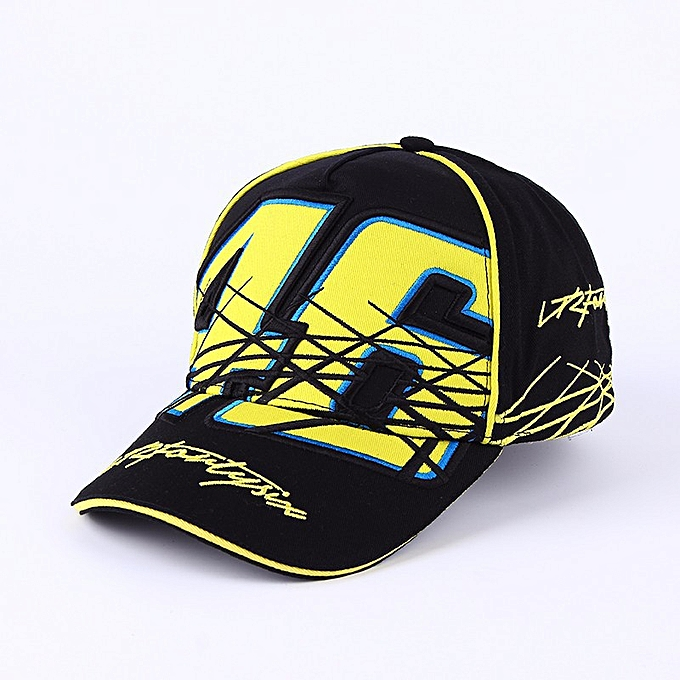 a3ac7528c 2019 New High Quality Snapback cap Brand Baseball Cap Moto Gp 46 3D  Embroidery Hat For Mens Women Boy Motorcycle Cap