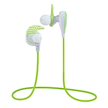 V3 - Bluetooth Sport Earbuds Super Bass With Mic Voice Prompt - Green