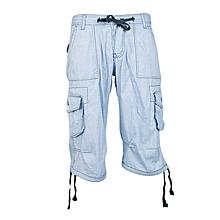 Sky Blue Lounge Shorts