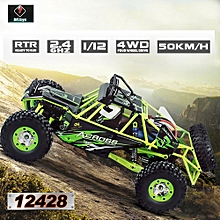 12428 1/12 2.4G 4WD Electric Brushed Crawler RTR RC Car w/ Two Battery