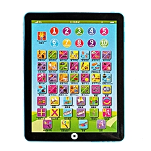 HP Children Learning English Tablet Portable Kids Computer Child Educational Toy blue