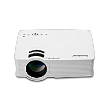EHD09 - Mini LED Projector 1200LM 800*480 Home Theater EU - White