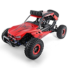 JJRC Q46 1/12 2.4G 4CH High Speed Off Road Buggy Crawler RC Car 45km/h-Red