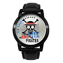Anime LED Touching Screen Waterproof 100M Boys' Fashion Watches(Color:ONE PIECE)