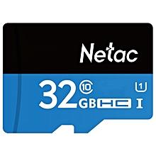 Netac P500 32GB UHS I U1 Storage Memory Card TF Card For Mobile Phone