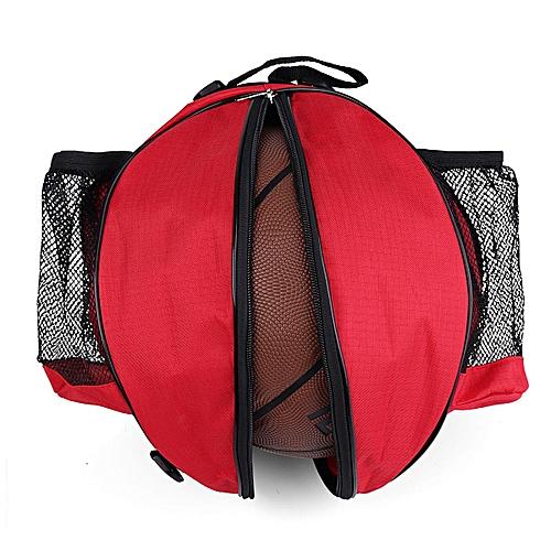 8472e8dfaaa Portable Basketball Backpack Water Bottle Ball Pack Soccer Sports Bags Kids  Football Kits Waterproof Volleyball Basketball