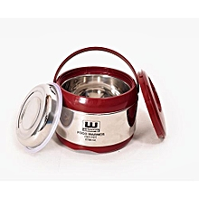 High Quality Stainless Steel Hot Pot 2 in 1 duplex- 3.5 ltr-Silver