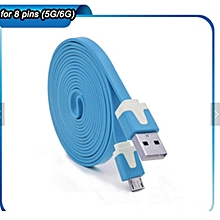 USB Charging Cable Android - blue