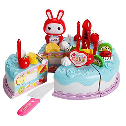 Generic Cutting Fruit Cake Pretend Play Children Kid Educational Gift