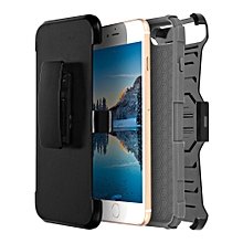 Metrans Three-piece Case Anti-knocking Anti-falling PC Shell Cover for iPhone 7