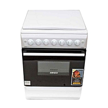 GC-F5531PX(W) - 3 Gas and 1 Electric Oven + Grill - 50 x 50 - White