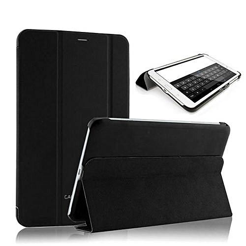 For Samsung Galaxy Tab3 7.0 Lite T110 T111 Case Cover Auto Wake Sleep BK