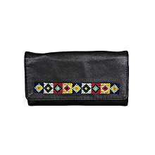 Black Martin's Purse With Beads