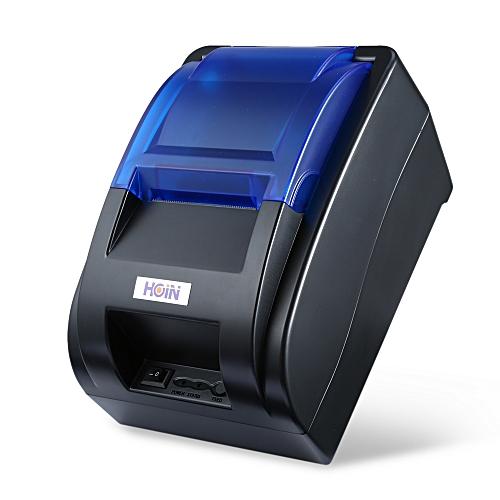 HOP - H58 Thermal Printer Receipt Machine EU PLUG - Black