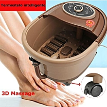 Foot Spa Bath Massager Bubble Heat Vibration Infrared Portable Gifts