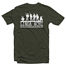 Linda Nchi T-shirt - Jungle Green