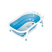 Newborn-to-Toddler Portable Folding Bath Tub / Basin - Blue