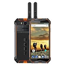 Armor 3T, Dual 4G, 4GB+64GB, Walkie Talkie Function, IP68/IP69K Waterproof Dustproof Shockproof, Face ID & Fingerprint Identification, 10300mAh Battery, 5.7 inch Android 8.1, Network: 4G, NFC, OTG(Orange)