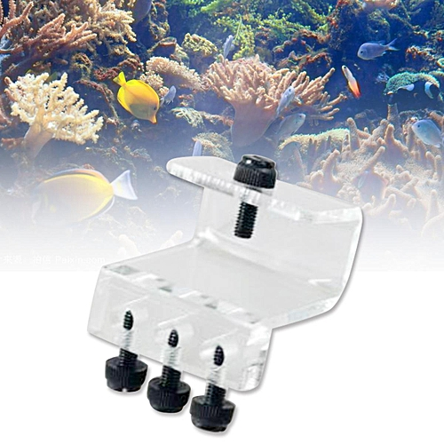 Soft Tube Fixture Holder for Dosing Pump Air Pump (3 Tubes) Acrylic Made  Aquarium Fish Tank stands
