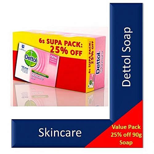 Dettol Soap Skincare 6's