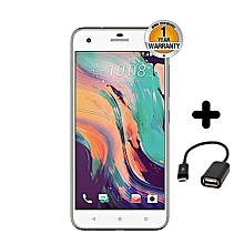 "Desire 10 Pro - 5.5"" - 4GB RAM + 64GB - 20MP Camera - Dual SIM - 4G/LTE - White + FREE OTG Cable"