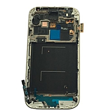 Lcd Screen With Frame Touch Screen Lcd Display Complete Screen Assembly Replacement Parts White For Samsung Galaxy I9505
