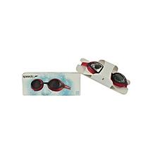 Swim Goggles Merit- 700650000/8028374564/8909smoke/Red-