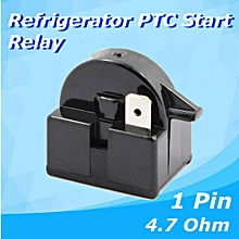 QP2-4.7 Start Relay Refrigerator PTC for 4.7 Ohm 1 Pin Vissani Danby Compressor