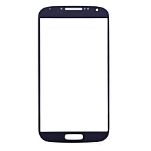 Outer Glass Lens Touch Screen Protective Cover With Repair Tools For Samsung S4 - Blue