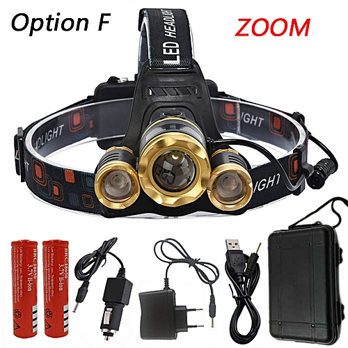 Z10 LED Headlamp Headlight Head Lamp lighting Light T6 & 2x R5 Chips  Flashlight Torch Lantern Fishing Zoom Waterproof BIL