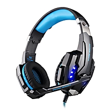 G9000 USB 7.1 Surround Sound Version Game Headphone With Microphone LED Light