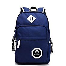 Travel Waterproof School Computer Packsack - Blue