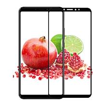 2 Pcs Xiaomi Series Screen Films 3D Premium Tempered Glass Screen Protectors    XIAOMI REDMI 6 PRO    white