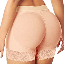 singedanWoman Body Shaper Butt Lifter Trainer Lift Butt Hip Enhancer Panty KH XXL -Khaki