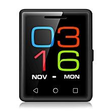 S8 1.54 inch Smartphone MTK6261D Heart Rate Measurement Pedometer Remote Camera-BLACK