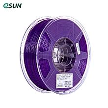 eSUN PETG 1.75mm 3D Printer Filament 1kg(2.2lb) Spool Material Refills Solid Purple Consumables