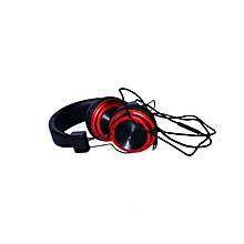 Boom Headphones - Black & Red