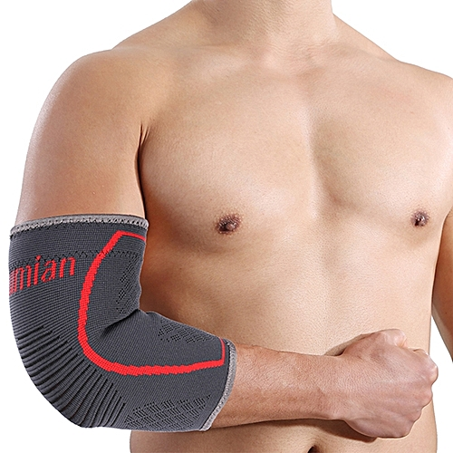 Mumian A29 Silica Gel Non-slip Design Sports Elbow Sleeve Brace - 1PC